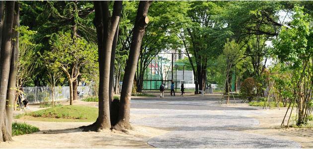 渋谷区宮下公園フットサル場の画像