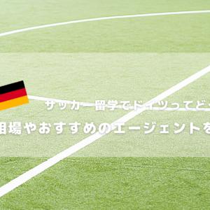 サッカー留学でドイツってどうなの?費用相場やおすすめのエージェントを紹介!