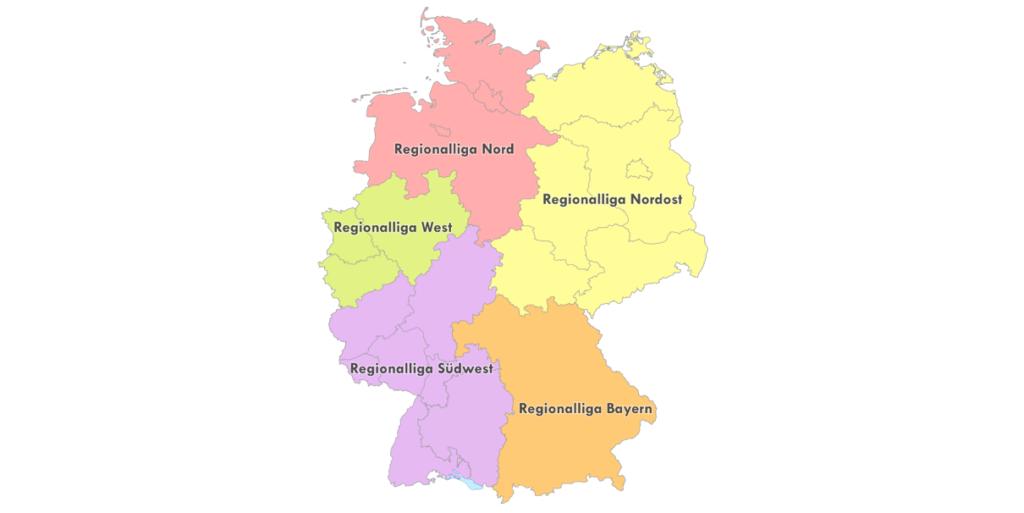 ドイツ4部(レギオナルリーガ)の画像