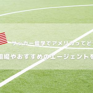 サッカー留学でアメリカってどうなの?費用相場やおすすめのエージェントを紹介!