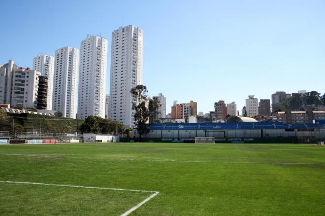 サンパウロ市内にあるサッカー場